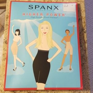Spanx High Wasted Power Panties in Barest